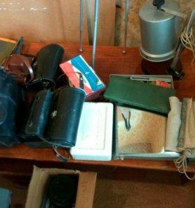 Домашняя фотолаборатория, фотоаппараты