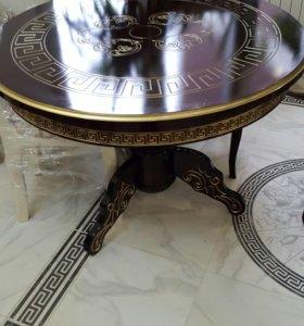 Стол обеденный круг 1 м новый венге