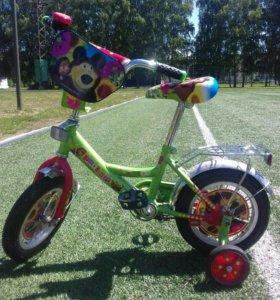 Велосипед детский Маша и медведь