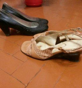 Туфли ,босоножки натуральная кожа