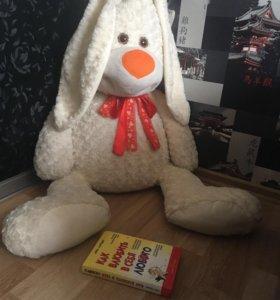 игрушка плюшевый заяц 🐰