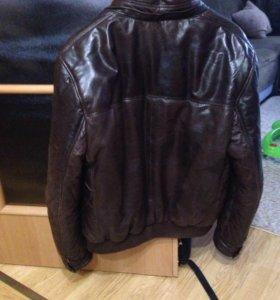Vieri куртка мужская кожаная размер М