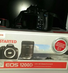 Зеркальная камера Canon EOS 1200D Kit 18-135mm IS