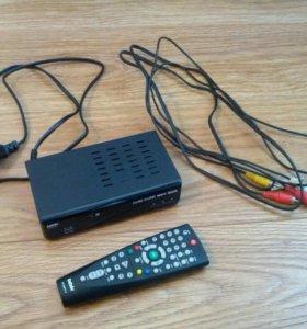 Цифровой TV-тюнер (ресивер) 20 каналов +3 радио