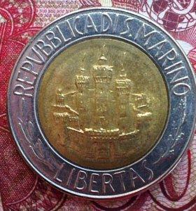 N2 редкая красивая монета