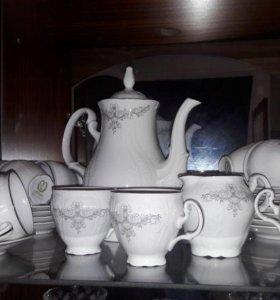 Кофейный сервиз Bernadotte Чехия (оригинал)