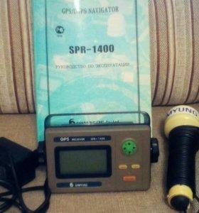 Судовой gps/dgps приемник SPR-1400 с антенной
