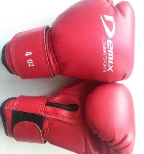 Боксёрские перчатки, 4oz