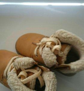 Ботинки детские зимние 24 размер
