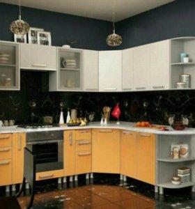Кухонный гарнитур Модульный. Угловой 2.7*2м