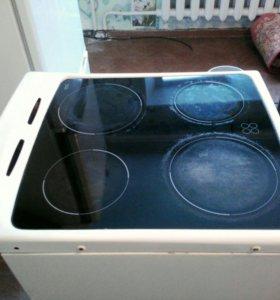 Продам стеклокерамическую плиту б/у