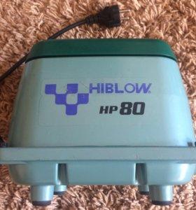 Компрессор для септика hiblow 80