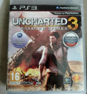Игра для PS3 UNCHARTED3