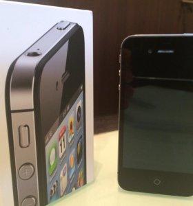 iPhone 4s 16gb Black Новый В Идеале!