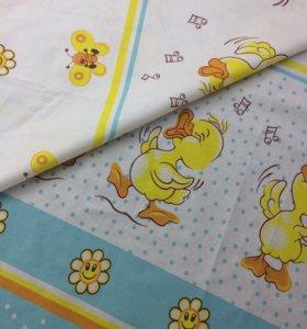 Детское постельное белье (новое)