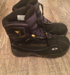 Зимние ботинки для мальчика Salomon