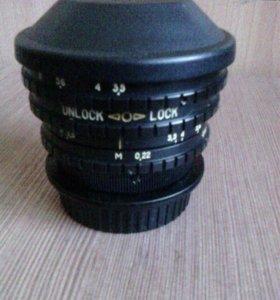 Объектив belomo EWP fisheye lens MC 3.5/8