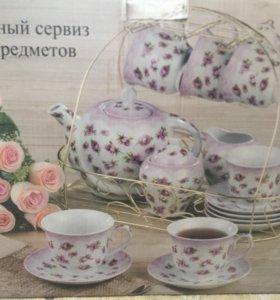 Чайный сервиз 18 предметов