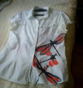 Легкая рубашка50 размер