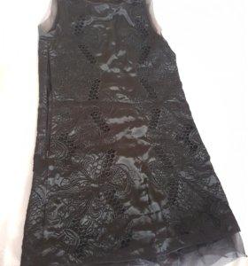 Черное платье Дольче Габбана. Италия.