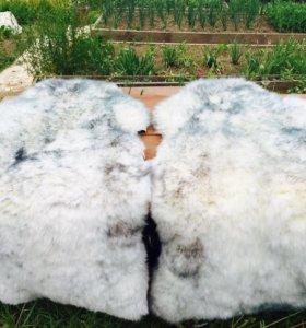 Чехлы меховые, овчина б/у состояние отличное