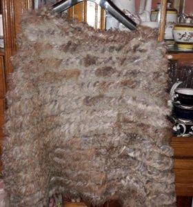 Накидка натуральный мех из кролика