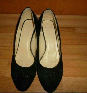 Туфли замша 40-41 размер