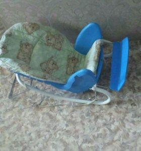 Продам стульчик для кормления 3в 1