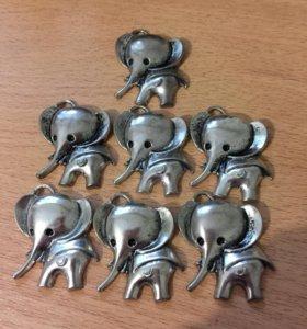 Декоративные слоники