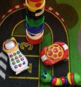 Игрушки от 8 месяцев до 1, 5 лет