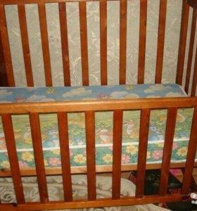 Крепкая кроватка
