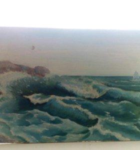 Картина ручной работы