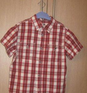 Продам рубашку H&M 128-134