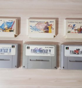 Коллекция Final Fantasy I -VI