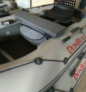 Мягкая накладка с сумкой для лодки