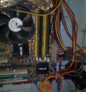 Системный блок Кор2 2000 GHz, 2 память, жёст200 гб