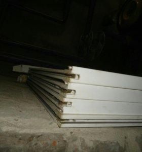 Балконное окно (пластик)