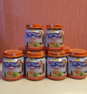 Агуша фруктовый салатик