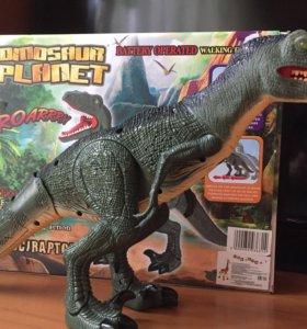 Шикарный Динозавр, новый.