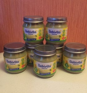 Bebivita овощные пюре