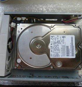 Жесткий диск на 4560mb + корпус и контролеры