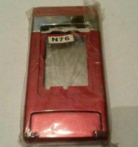 Nokia N76 корпус