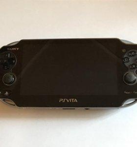 Sony PS Vita + 5 игр ,чехол ,плёнки ,16 Гб