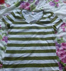Новая женская футболка, х / б