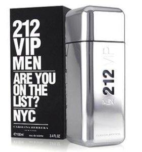 Carolina Herrera 212 VIP туалетная вода муж 100мл