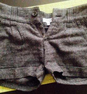 Короткие тёплые шорты