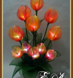 Светильник тюльпаны.