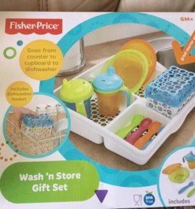 Fisher-Price Органайзер с детской посудой
