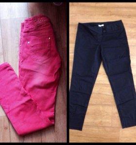 Стильные джинсы и укороченные брюки 42-44