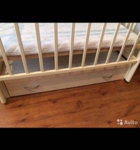 Кровать детская Алита-6 + матрац plitex EcoDream